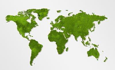 מפת העולם בירוק