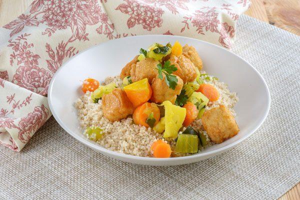 תמונה של קוסקוס עם ירקות