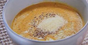 かぼちゃとチーズのポタージュスープ