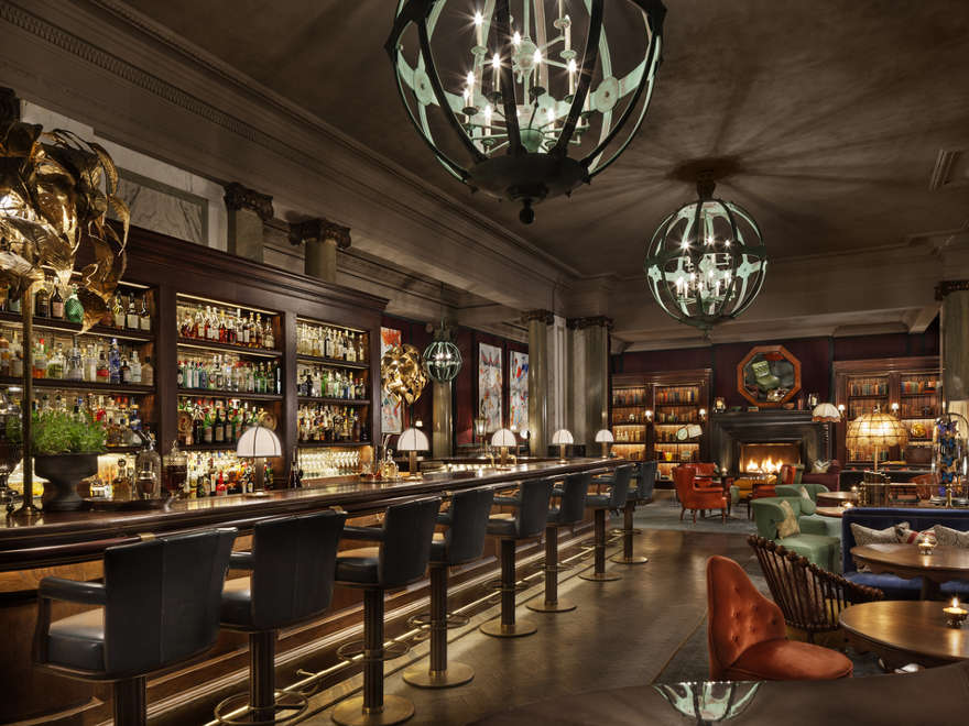 Scarfes Bar at the Rosewood, London, UK