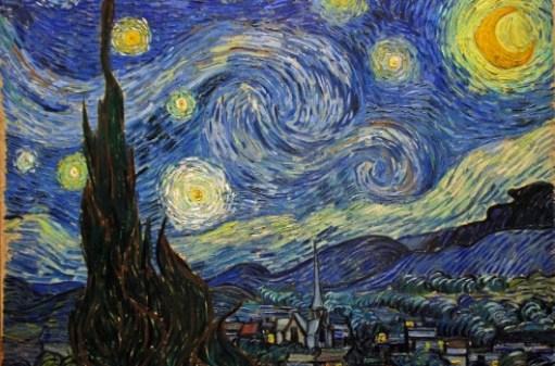 wholesale dealer 608fd be3e4 Vincent van Gogh La notte stellata - Saint-Rémy   Giugno, 1889 Olio su