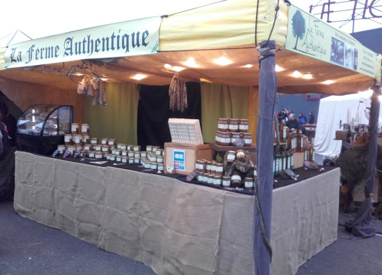 Le stand de La Ferme Authentique