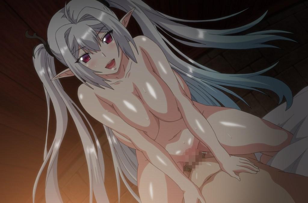 OVA ようこそ! スケベエルフの森へ #1 救世主様、村中のエルフを孕ませてください サンプル画像 (13)