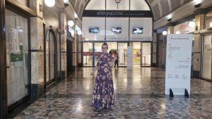 Una serata a Milano; Corso Buenos Aires e teatro Elfo Puccini