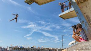 Tuffi: Vantees, artista di strada, arriva a Livorno