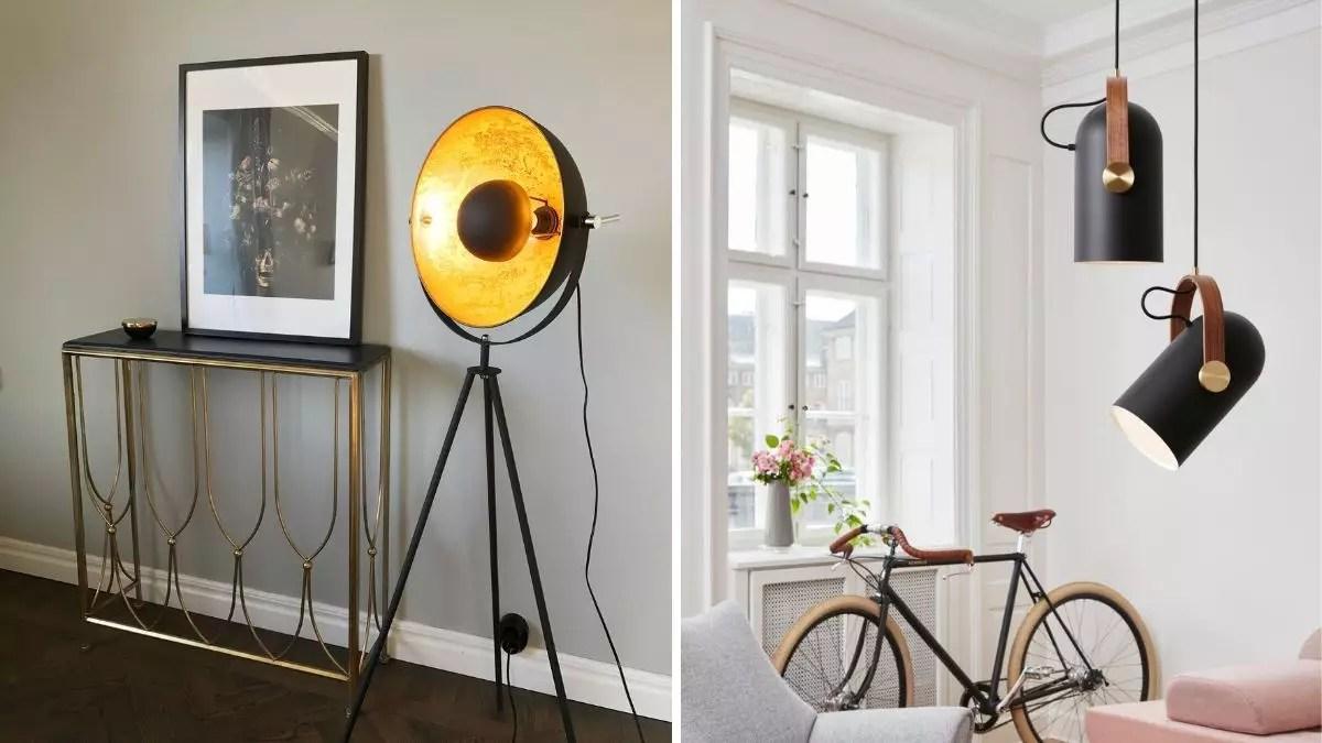 Sort Lampe Inspirasjon Svarte Designlamper Til Boligen