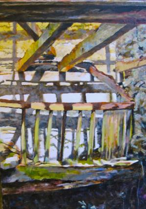 Ellel Crag oil 80 x 60
