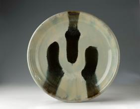 Nuka Bowl with Tenmoku Pours. 50 cm