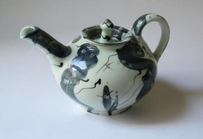 Thrown Teapot