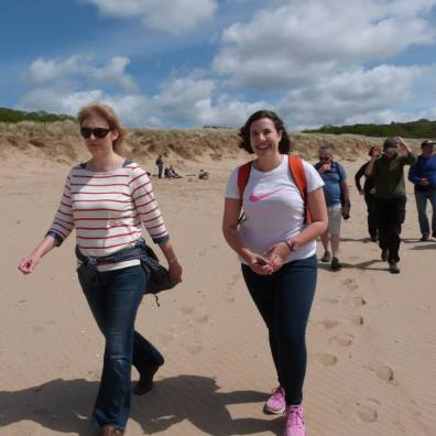 Sponsored Walk 29thMay Walk Gower Peninsula