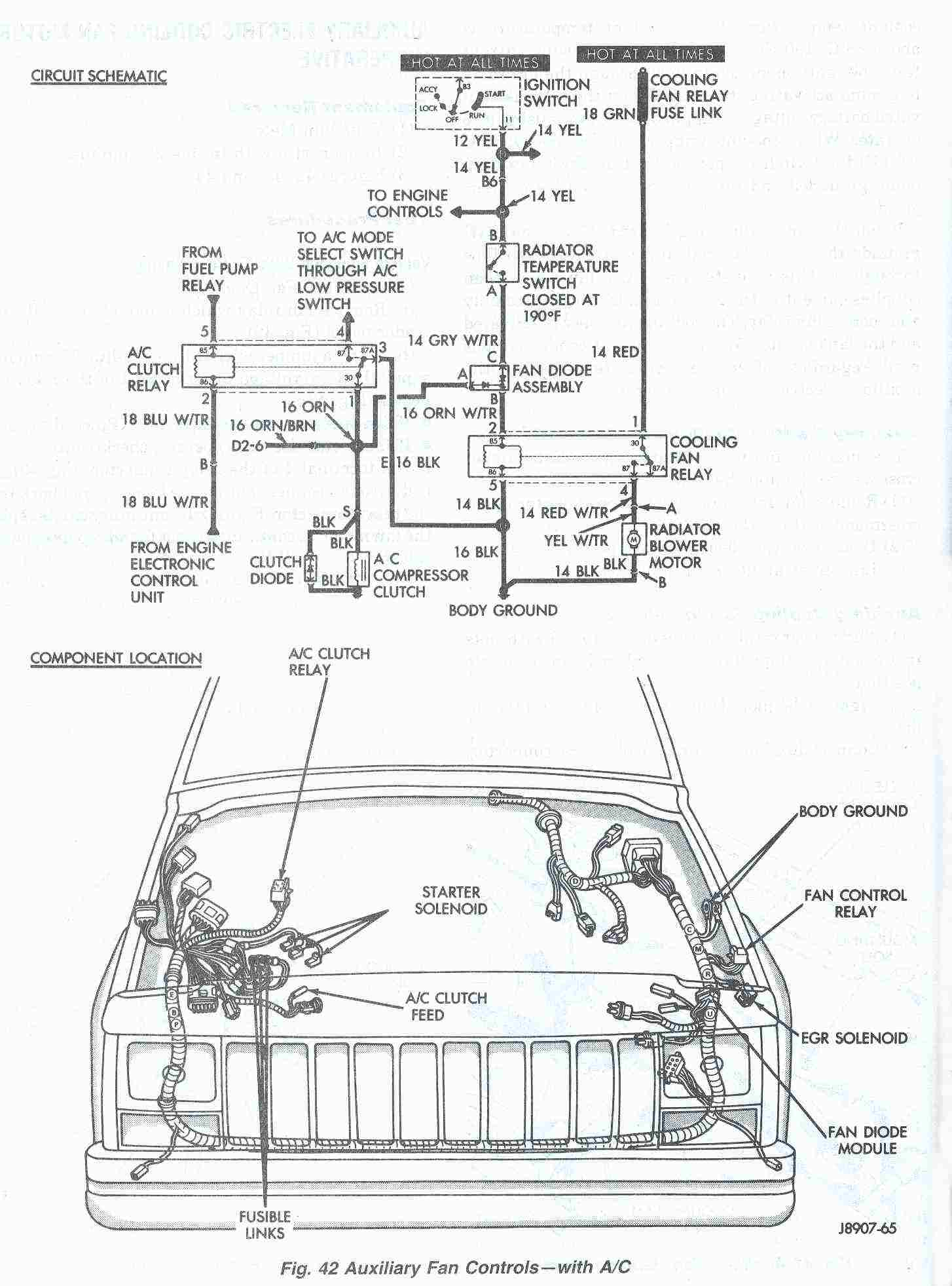 Jeep Cherokee Headlight Wiring Diagram