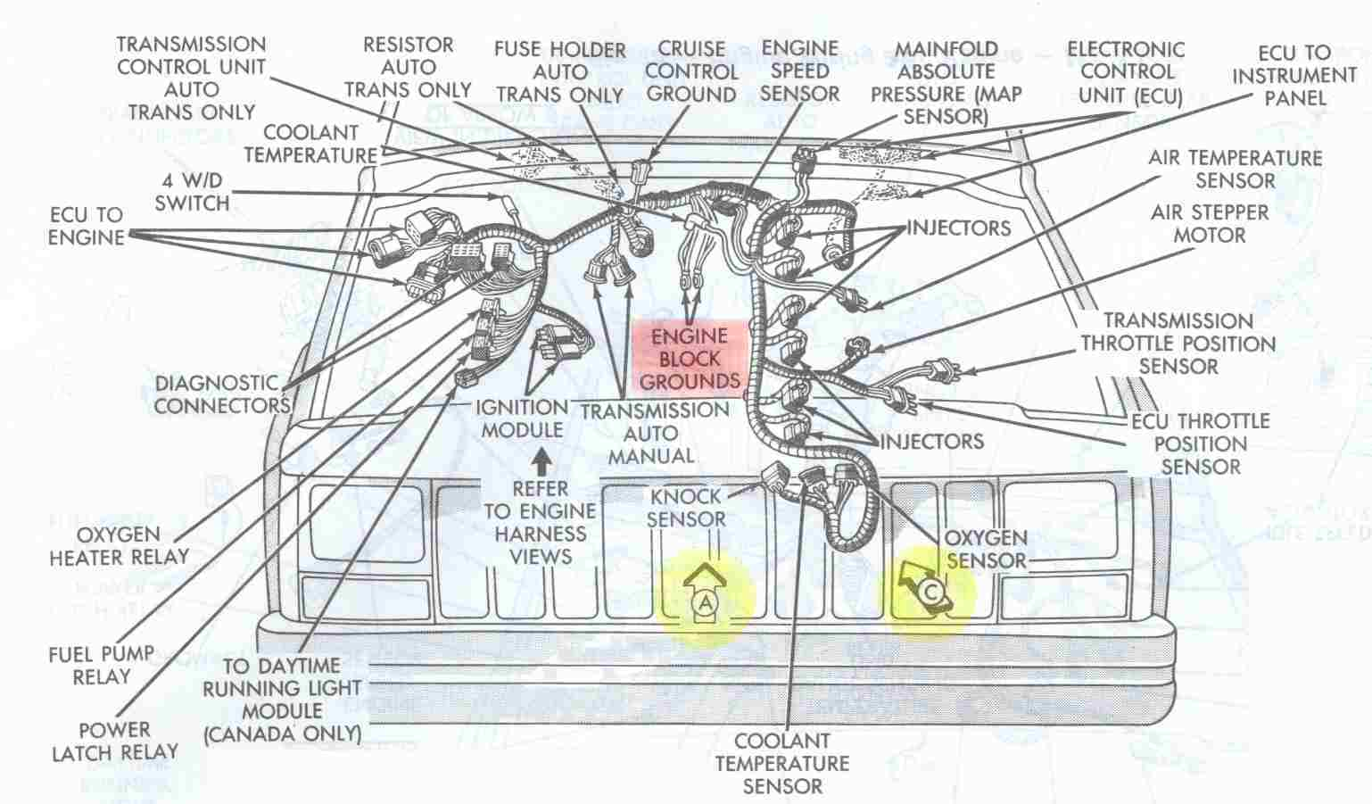 350 Chevy Ignition Diagram
