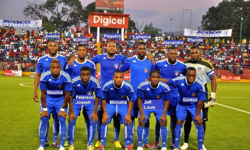 Haiti Soccer Team