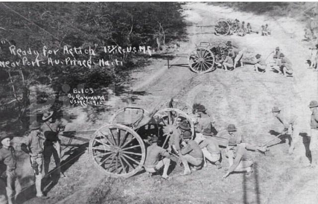 DOCUMENTING THE 1915 US INVASION OF HAITI