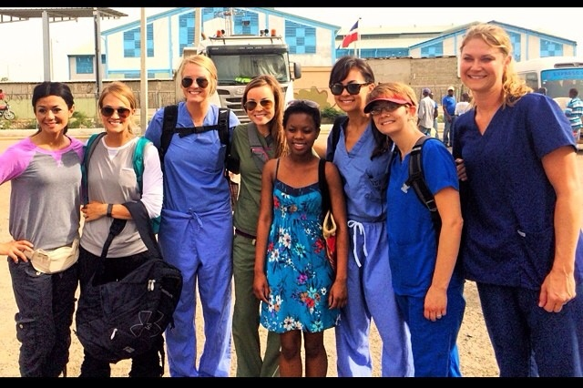 Carrie Underwood and Friends on a Mission Trip to Haiti Photo Credit: Rhae Lauren/Twitter