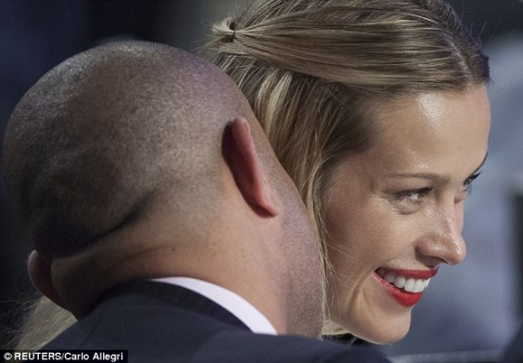Petra and Laurent - Courtesy of Dailymail.co.uk