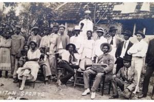 Haitian Band, Jerémie, Haiti c.1900