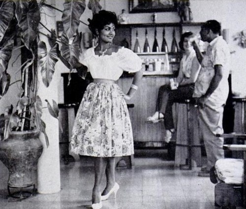 Claudinette Fouchard, 1950′s
