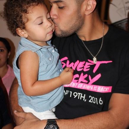 Olivier Martelly & Daughter
