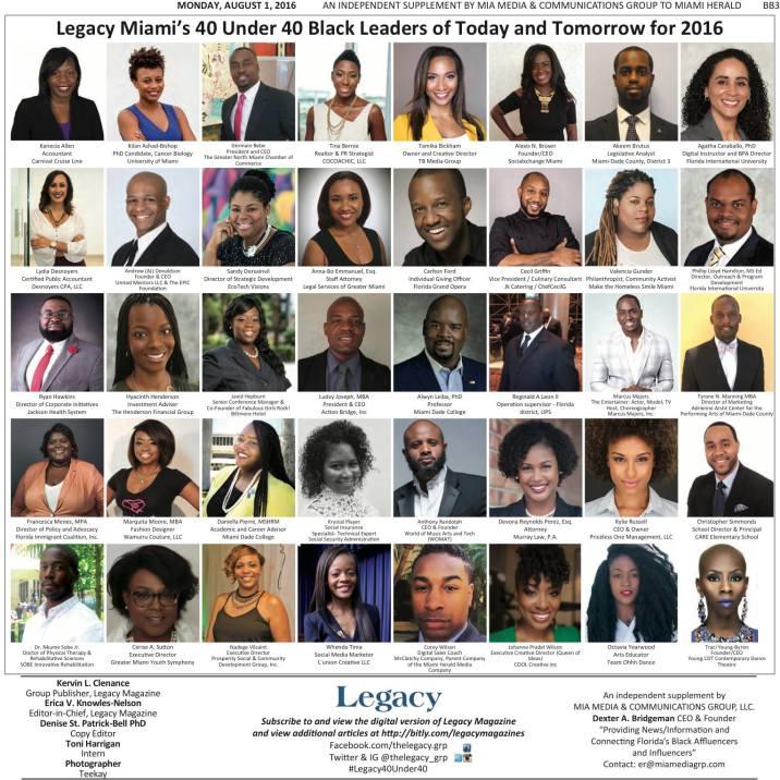 Wanda Tima Named Legacy Magazine 40 under 40.