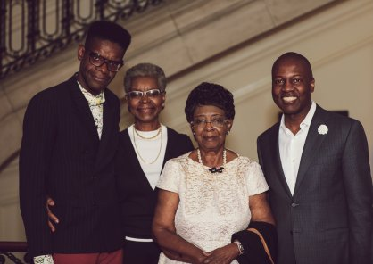 Amb. Paul Altidor - Victor Glemaud - His mother and grandmother