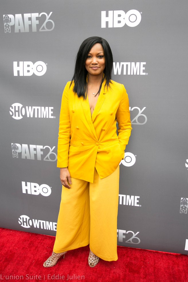 Garcelle Beauvais attends 'Lalo's House' Red Carpet Screening at Cinemark Baldwin Hills Crenshaw