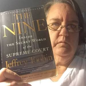 What's Auntie reading now? The Nine by Jeffrey Toobin