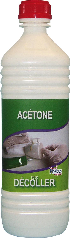 acetone 1l degraissant dissolvant colles cellulosiques vernis encres peintures