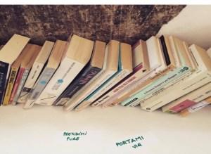 I libri a disposizione (foto: Chiara Superbi)