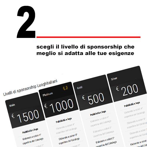 2 come sponsorizzare un evento Luoghitaliani