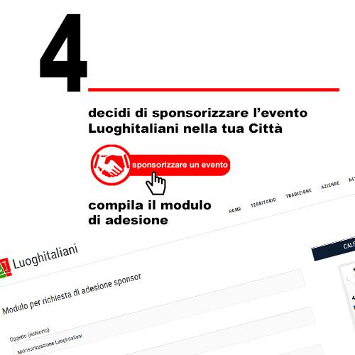 4 come sponsorizzare un evento Luoghitaliani