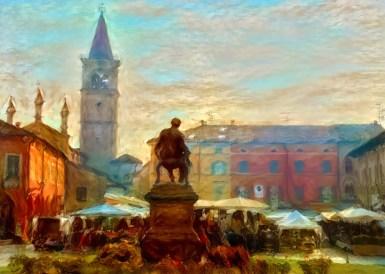 Busseto vista dai grandi artisti storici