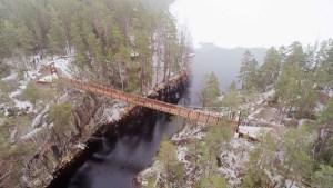 Metsähallitus kehittää Lapinsalmen sisääntuloa Repoveden kansallispuistossa