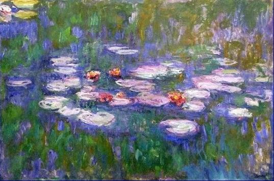 Acrylic Painting 2 – Texture, Rhythm, Claude Monet