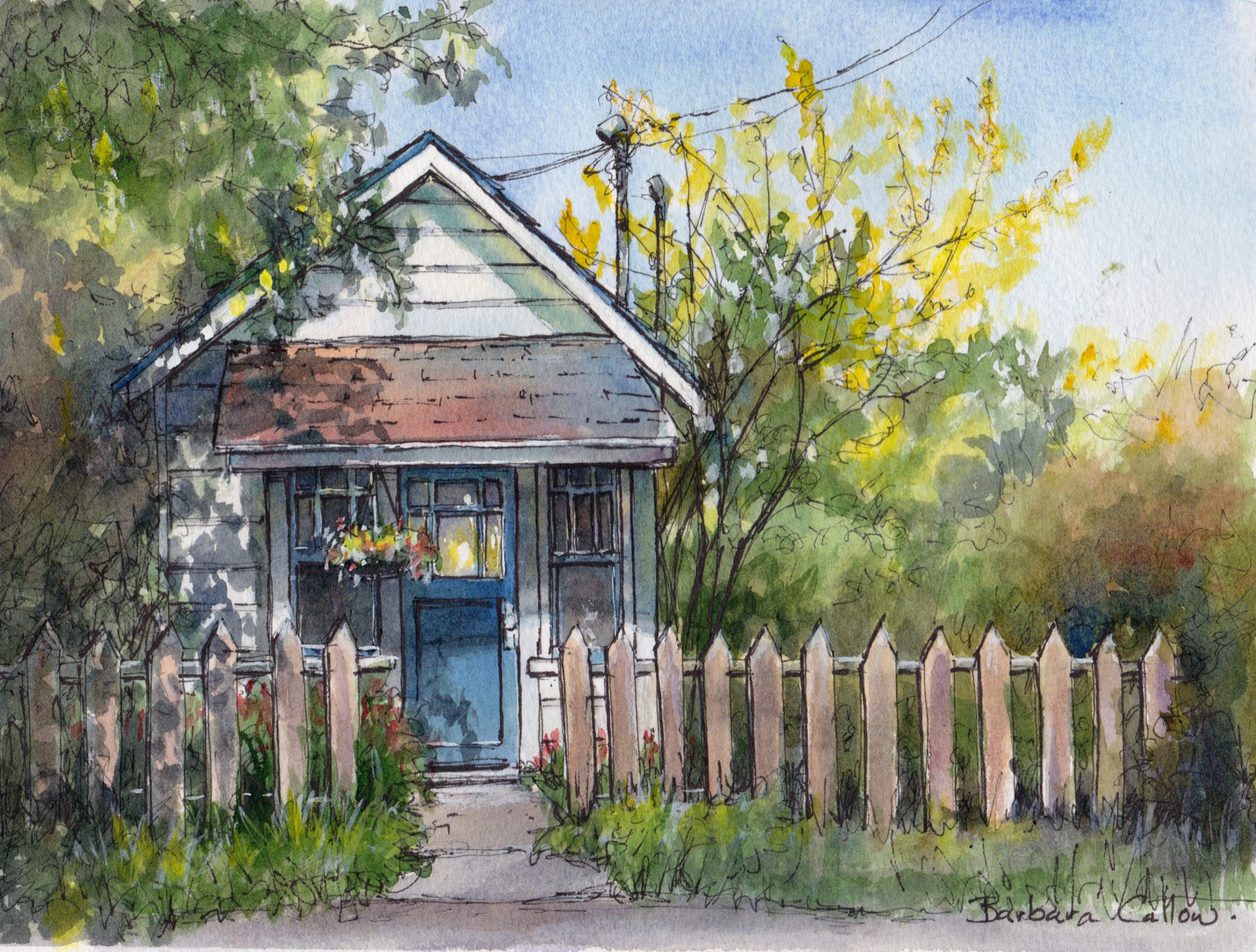You are currently viewing Watercolour and Ink Workshop with Barbara Callow