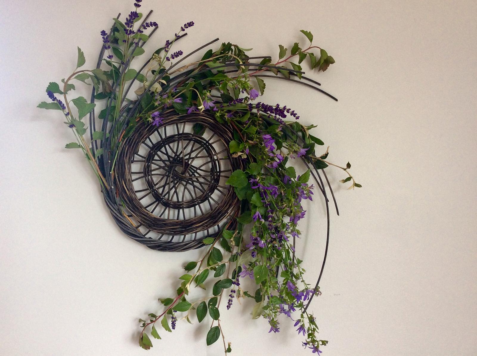 Pinwheel Wreaths with Amy Dugas
