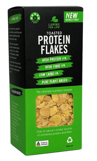 Toasted Protein Flakes package
