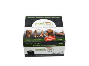 Caixa Dynamic Tape ECO 7,5cm x 5m com 4 rolos