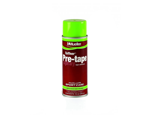 Spray-pre-tape-mueller