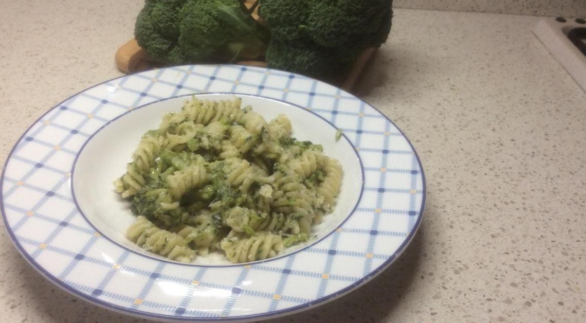 Fusilli Verdi alle Zucchine e Mozzarella