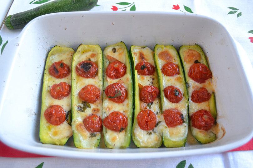 Zucchine ripiene di carne di Antonietta
