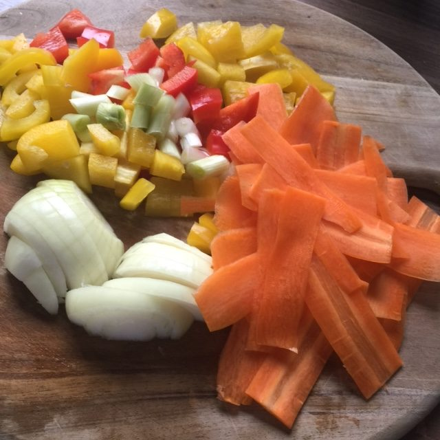 Gemüseküche - Lupus und Ernährung