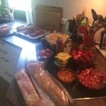 Grill-Vorbereitungen