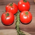 Tomaten mit Rosmarin