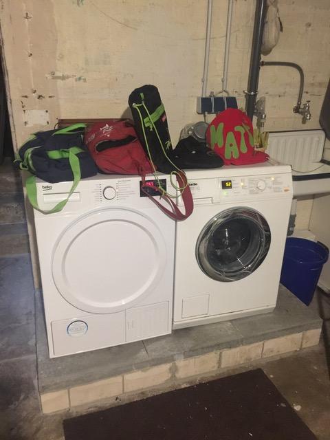 nach der Wäsche ist vor der Wäsche