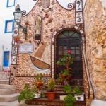Muschelwand, Albufeira, Algarve - Im April