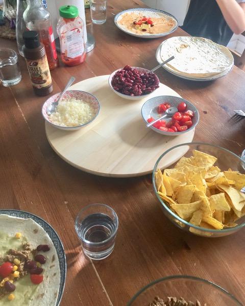 Zutaten Wraps Mexican Style