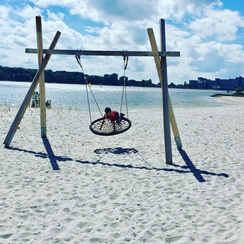 am Strand von Heiligenhafen - Ferienendspurt - Freitagszeuch