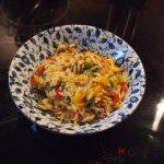 Nudelsalat mit Krümelhack – Schnelles Essen