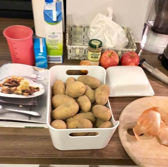 Vorbereitungen Abendessen